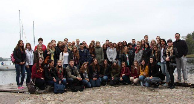 Marijonų gimnazijoje viešėjo svečiai iš Ispanijos, Airijos, Vokietijos ir Belgijos