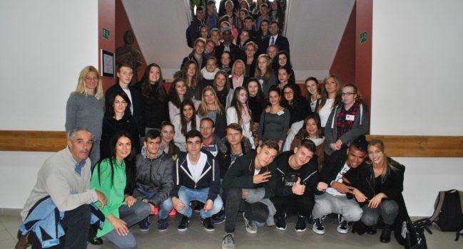 ERASMUS+ Daugiašalis projektas Marijonų gimnazijoje