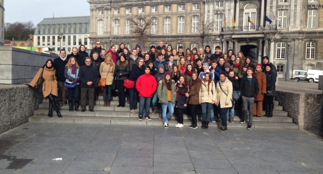 Marijonų viešnagė Belgijoje