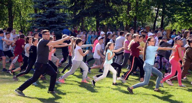 Sveikatingumo ir sporto diena gimnazijoje