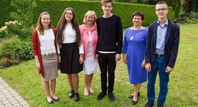 Susitikimas JAV Ambasadoje Vilniuje