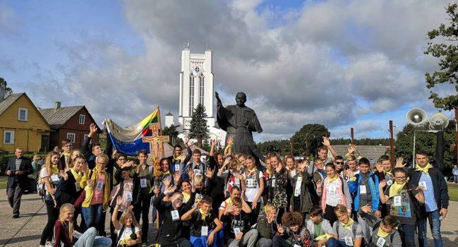 Katalikiškų mokyklų sąskrydis Šiluvoje