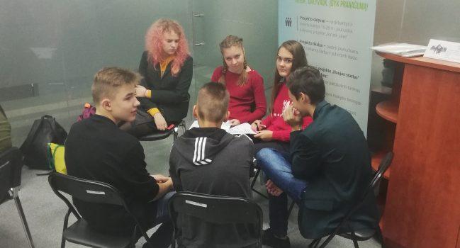 Marijampolės Jaunimo užimtumo skyriuje