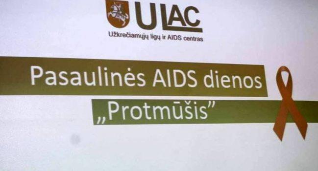 Paminėta Pasaulinė AIDS diena