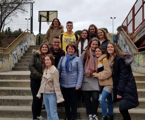 Marijampolės marijonų gimnazistams Erasmus+ projekto susitikimas Ispanijoje baigėsi ašaromis