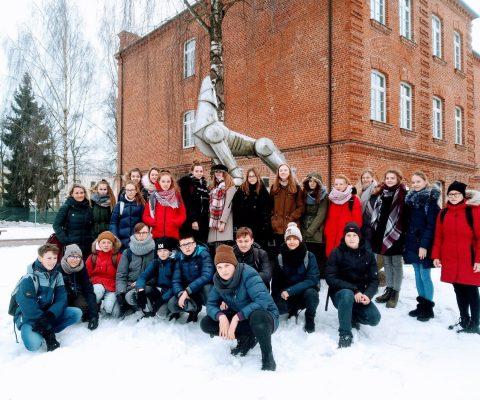 7a klasės išvyka į Lietuvos didžiojo kunigaikščio Vytenio bendrosios paramos logistikos batalioną