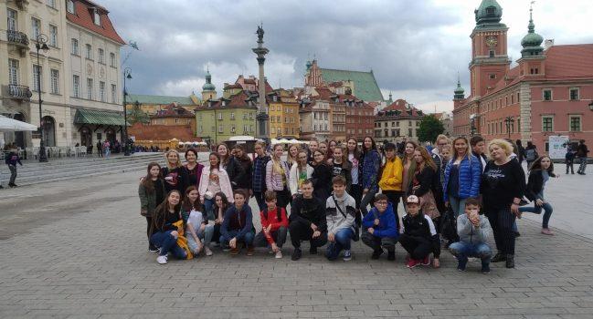 Pažintinė ekskursija į Varšuvą