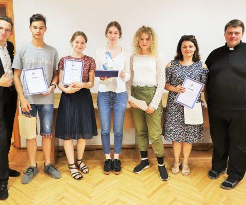 Vilkaviškio vyskupijos Jaunimo centro organizuotas protmūšis