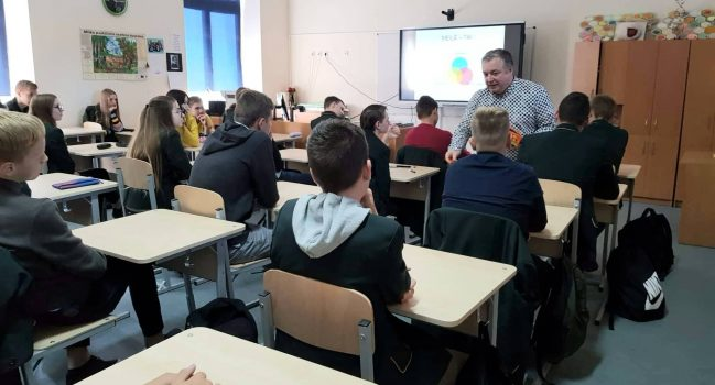 Susitikimas su edukologu R.Pagojumi