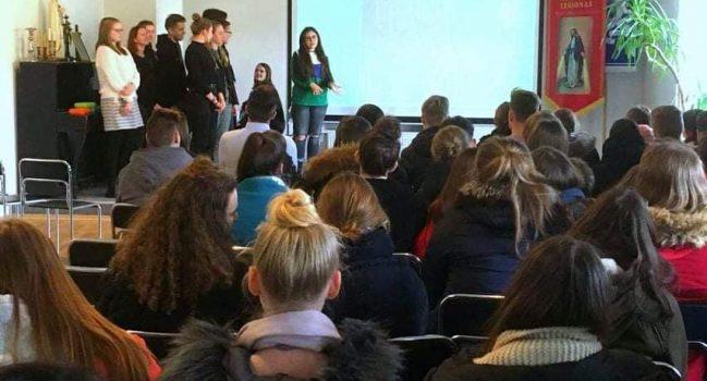 "Erasmus+projekto ,,Green Teen Entrepreneurs"" sklaida"