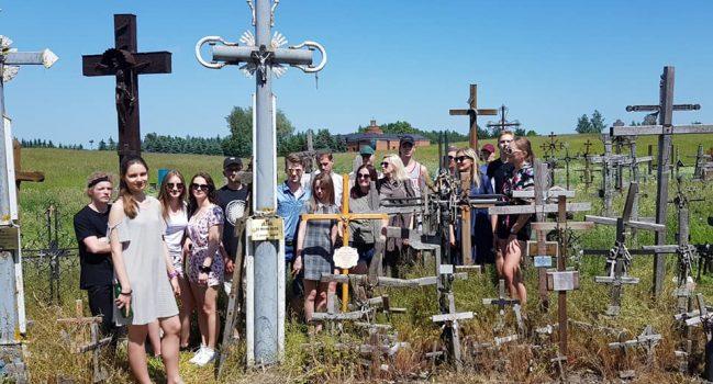 Abiturientų išvyka į Kryžių kalną